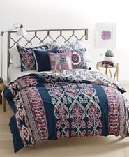 Martha Stewart Whim 3 piece King Comforter Cover Set Wild Child DUVET REVERSIBLE