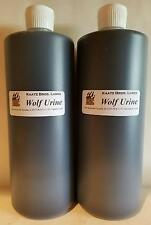 Wolf Urine 1/2 gall Wolves Urines Trapping Trappers Trap Repellent Repel Fur