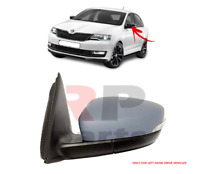 FOR SKODA RAPID (NH) 16-19 WING MIRROR ELECTRIC HEATED FOR PAINTING LEFT LHD