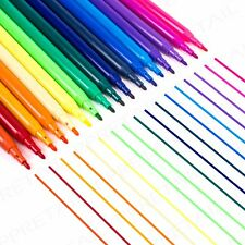 20pk Fibre Pens Felt Tip Tipped Drawing Markers Painting Colouring Art School