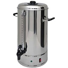 SYBO Commercial Grade Stainless Steel 15 Liters 100 Cups Coffee Maker and Hot
