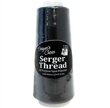 Designer's Choice Cone Serger Thread Sewing -- New -- Black