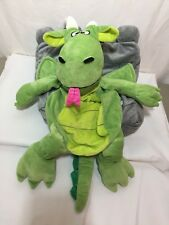 Happy Napper Pillow Stuffed Animal Dragon in a Castle Kids Plush Toy