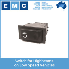 Switch for Highbeams on Low Speed Electric Vehicles