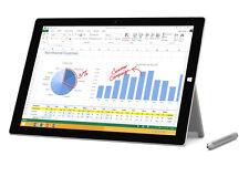 Microsoft Surface 3 con Penna Pro Core-i5/4GB RAM/128GB SSD/Silver * 1YR GARANZIA *