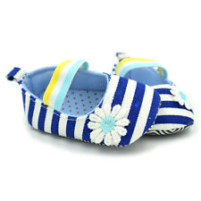 Toddler Baby Girl Flower Crib Shoes Newborn Prewalker Non-slip Kids Soft Sole