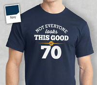 70th Birthday Gift Present Idea For Boys Dad Him & Men T Shirt 70 Tee Shirts