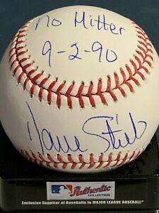 DAVE STIEB  TORONTO BLUE JAYS  NO-HITTER 9-2-90  SIGNED OML BALL