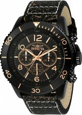 wachawant: Invicta 24554 Aviator Quartz 48mm Black Case Black Dial Men's Watch