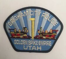 Brigham City Police, Utah old shoulder patch