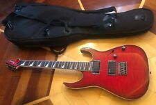 IBANEZ RG3 EX1 RED ELECTRIC GUITAR w/ GIG BAG CASE