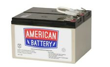 American Battery RBC109 UPS Replacement Battery 2x12V/9AH
