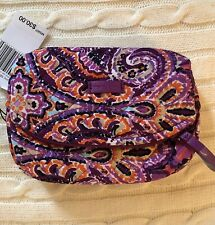 Vera Bradley Dream Tapestry Iconic Mini Cosmetic. New In Package! Purple!