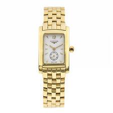 Longines DolceVita Ladies Oro Amarillo Reloj de Pulsera Analógico Para Mujer