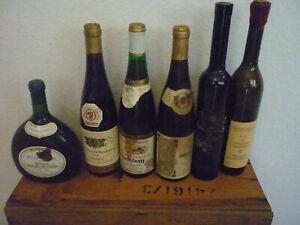 3 x Beerenauslese,2 xEiswein, 1 x Auslese. 4 x75cl, 2 x50cl, alte Jahrgänge