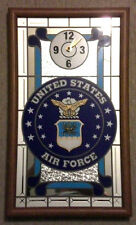 United States Air Force Mirrored Wall Clock