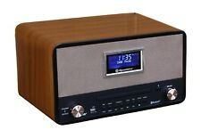 Roadstar HRA-1786D+BT Vintage Design Retroradio mit Bluetooth & DAB, CD/MP3, USB