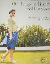 Rowan: the lenpur linen COLLECT., 13 designs, Sarah Hatton, With Dt. translation #1527