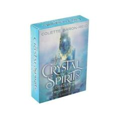 Crystal Spirits Oracles 58-Card Deck and Guidebook Full English Tarot Cards Game