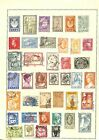 [OP6243] Greece lot of stamps on 12 pages