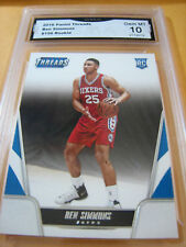 BEN SIMMONS 76ERS 2016 PANINI THREADS ROOKIE RC # 156 GRADED 10  L@@@K