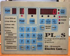 Electro Cam Plus PS-4011-10-N16 Programmable Limit Switch 9211/1 115VAC 16 out