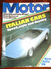 Motor 21/4/79 Ferrari 400