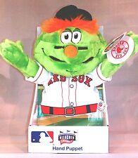 Bleacher Creatures Wally The Green Monster Redsox MLB Mascot Plush Hand Puppet