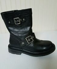 #13 Harley Davidson boots, size 5, black leather, ankle length