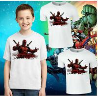 ref D1 Cartoon Style Deadpool Lanyard