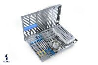 Dental Oral Surgery Cassette 12 Instruments Blue Imos8 Hu