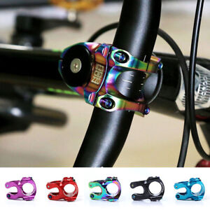 35mm Aluminium MTB Mountain Bike Cycling Bicycle Handlebar Short Stem 31.8mm