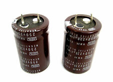 220uF 250V Snap-In Electrolytic Capacitor: Nippon NMHR Series: 2/Lot: Good Price