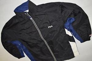 Fila Trainings Jacke Sport Jacket Track Top Jumper Vintage Casual Nylon L 157-16