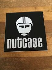 Nutcase - Bicycle Cycling Sticker Decal - black
