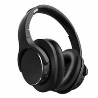 TECEVO Z4 ANC Bluetooth Wireless Headphones Hi-FI Gaming Active Noise Cancelling