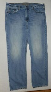 """Mens American Eagle """"Relaxed Straight"""" Jeans * Sz 36x34 * Lots of photos *"""