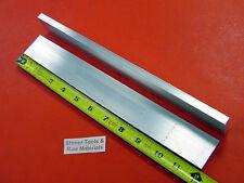 "2 Pieces 3/8"" X 1-1/2"" ALUMINUM 6061 FLAT BAR 12"" long T6511 Solid Mill Stock"