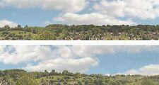 "Scenic Backdrop ""Suburbs"" 115C  (10' L x 15"" H) Premier HO Scale"