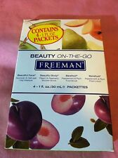 Freeman ~ Beauty on-the-go ~ For Face, Body, Feet ~ 4-1 fl.oz packettes