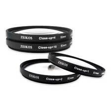 Zeikos ZE-CU452 52mm Filter Kit