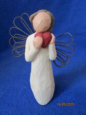 2000 Demdaco 5� Willow Tree Angel Of The Heart Susan Lordi