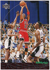 """1996-97 UPPER DECK GAME IN PICTURES: MICHAEL JORDAN #165 SUBSET """"EXCELLENCE"""""""