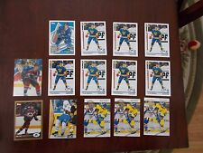 LOT OF 14 PETER FORSBERG CARDS FROM THE '90'S