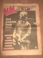 MELODY MAKER MAGAZINE / NEWSPAPER JUNE 13 1981 TOM PETTY TED NUGENT PETER TOSH