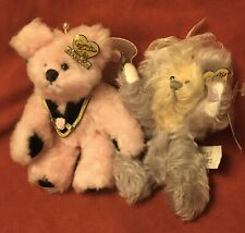 Two Vintage Annette Funicello Collectible Teddy Bears