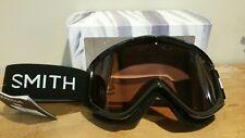 Smith Electra ski or snowboard goggles NEW Black with RC36 lens