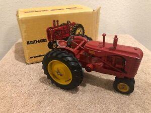 1/20 Vintage Reuhl Massey Harris 44 Tractor & Box Ruehl Toys