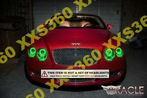 ORACLE Headlight HALO KIT RINGS BENTLEY Continental GT 2010-2014 GREEN LED