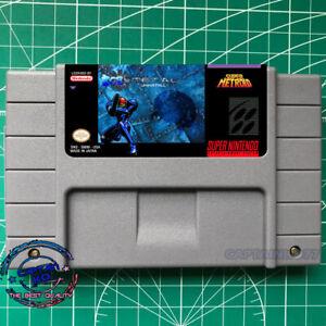 Super Metroid Ice Metal : Uninstall SNES USA version FREE SHIPPING